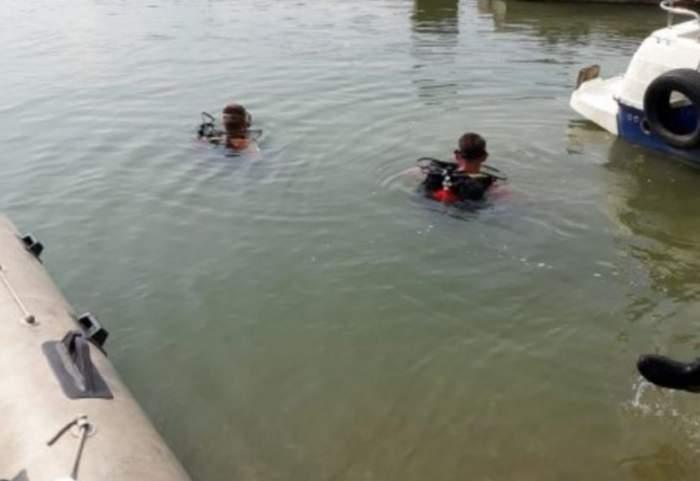 Căutări disperate în lacul Fundeni din Bucureşti. Un adolescent s-a aruncat cu maşina pentru a scăpa de Poliţie