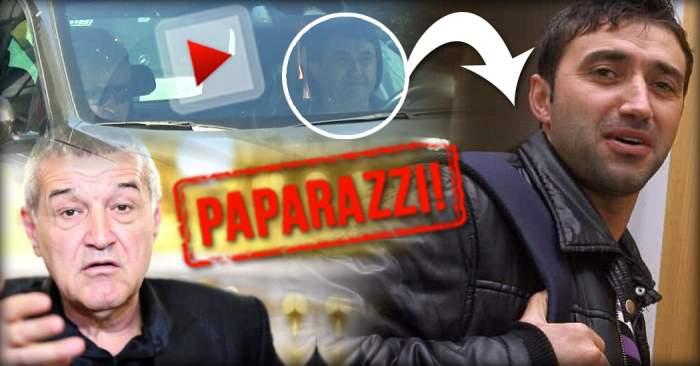 VIDEO PAPARAZZI / Gigi Becali a fost trădat de omul său de încredere! Iată pentru cine face pe şoferul Ionuţ Luţu