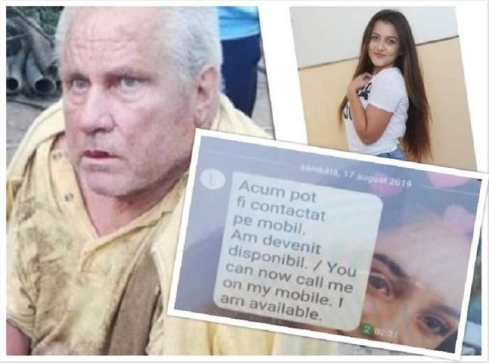Noi semne de pe telefonul Luizei Melencu, sâmbătă dimineaţă! Ce mesaj a primit bunicul fetei. FOTO