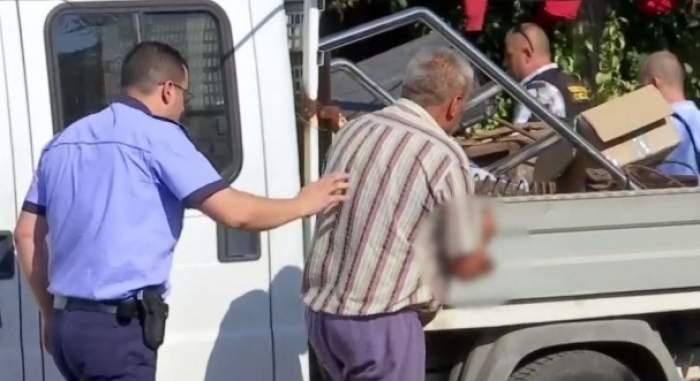 """Noi imagini cu criminalul din Caracal, după ce polițiștii au făcut cercetări, din nou, la """"casa ororilor"""""""
