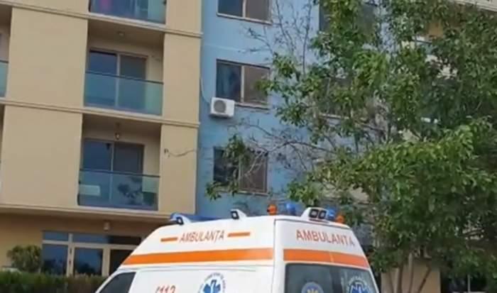 Incident şocant în Capitală. O tânără de 20 de ani a căzut de la etajul 8, noaptea trecută
