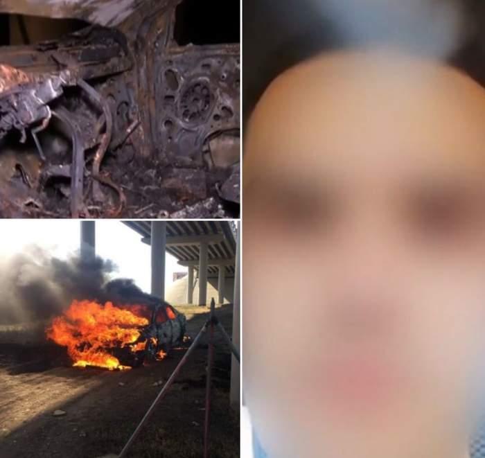 Tatăl tânărului care s-a autoincendiat şi a murit, audiat de politişti