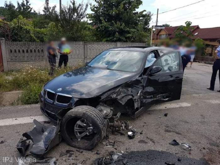 Accident grav în Râmnicu Vâlcea! Cinci persoane au ajuns la spital