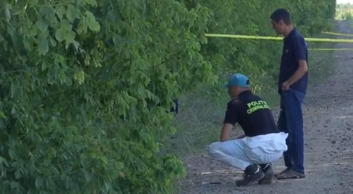 Pădurea din Caracal, din nou împânzită de criminaliști. A început o nouă zi de cercetări