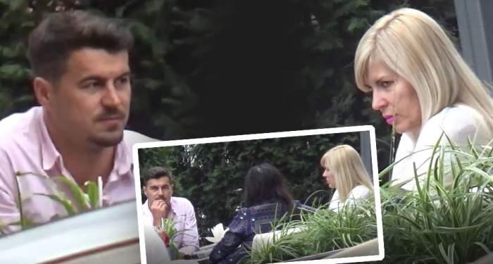 Se vede cine dictează în familie! Elena Udrea și Adrian Alexandrov, discuții și negocieri aprinse, la un restaurant din Capitală. VIDEO PAPARAZZI