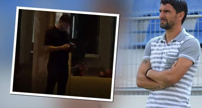 """VIDEO PAPARAZZI / Secundul lui Contra, mereu pe fugă! Cum încurcă Adrian Mihalcea traficul, în timp ce-și așteaptă """"caleașca"""""""