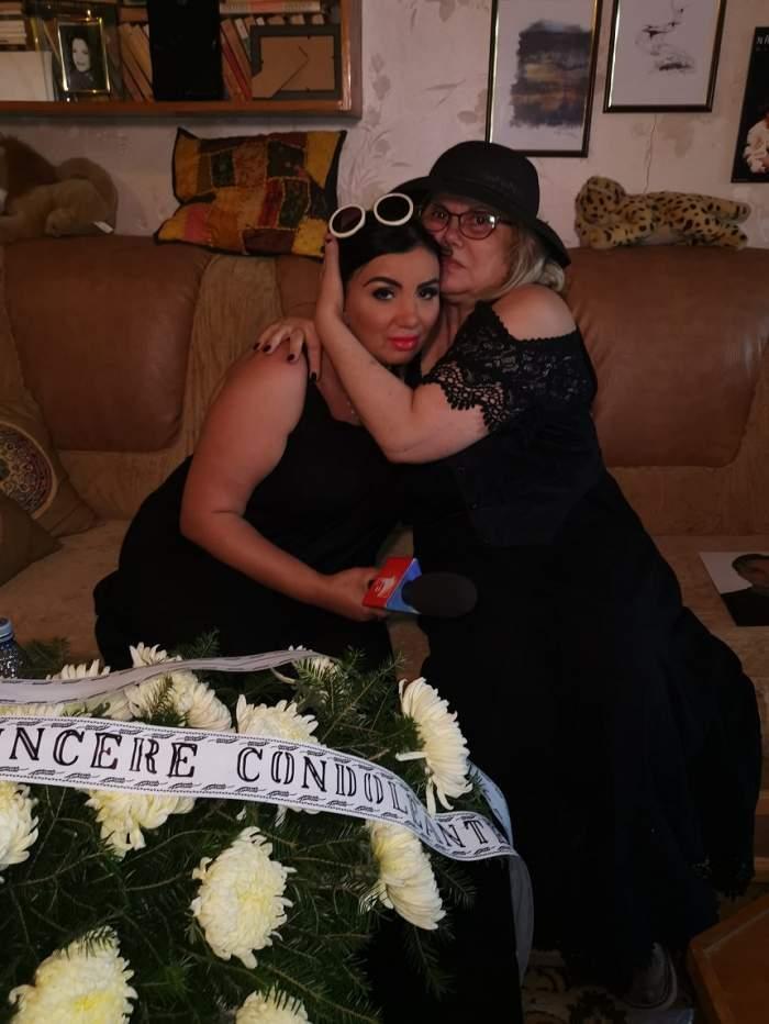 """Adriana Bahmuţeanu, mesaj sfâşietor pentru Nataşa Raab, la înmormântarea soţului actriţei: """"Dumnezeu să îţi dea putere"""""""