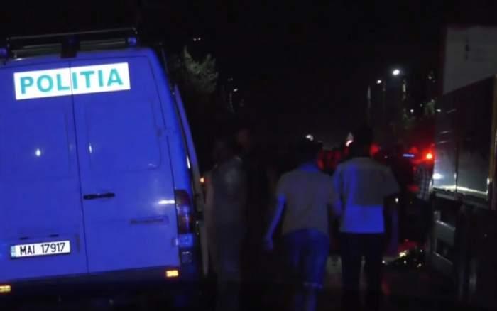 Scene de groază pe un drum din Mehedinţi! Un om de afaceri a fost omorât de 4 tineri care făceau întrecere cu căruţele