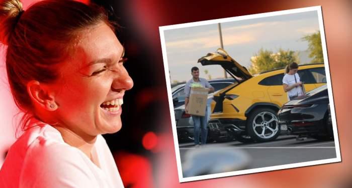"""PAPARAZZI /Cum""""sparge"""" Simona Haleppremiul de2,6 milioane de euro!Imagini exclusive cutenismena şi iubitul"""