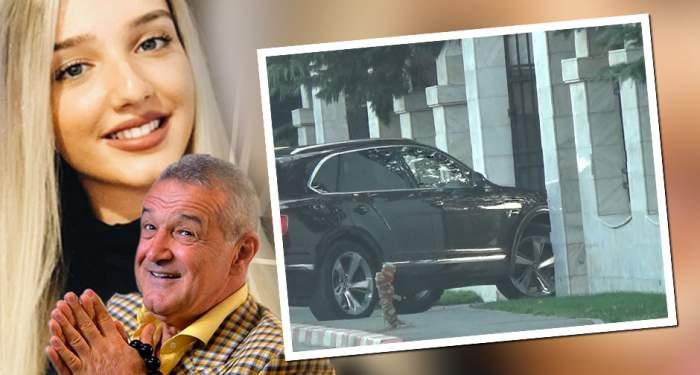 Fiica lui Gigi Becali, aroganţă după aroganţă! Cum reuşeşte Alexandra să se impună la volanul bolidului de 200.000 de euro. VIDEO PAPAPAZZI