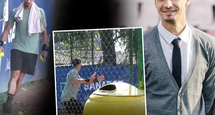 """Imagini rare cu un fotbalist celebru! Nu scapă de """"marcajul"""" iubitei nici măcar în timpul liber"""