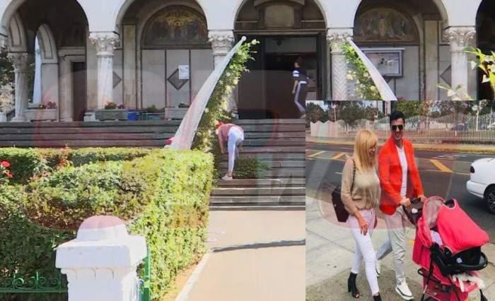 Imagini de senzaţie. Cum arată biserica în care va fi botezată fetiţa Elenei Udrea. Este îmbrăcată în flori / FOTO