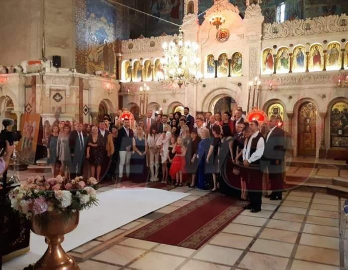 Cum arată cea de-a doua rochiţă de botez a Evei Maria. Fiica Elenei Udrea este o adevărată prinţesă / VIDEO