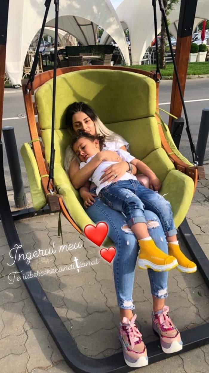 """Cum îl plânge Cristina Pucean pe nepoțelul ei, mort la numai 3 ani: """"Îngerul meu"""""""