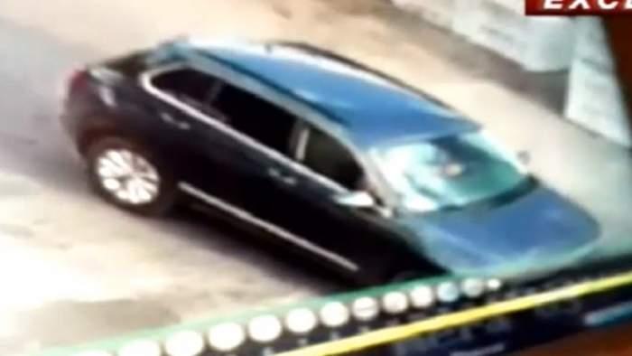 Primele imagini cu fetița ucisă în Dâmbovița, în mașina suspectului olandez. VIDEO