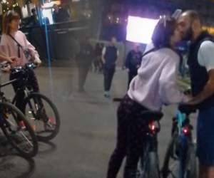 VIDEO PAPARAZZI / Imagini interzise cardiacilor cu Alexandra Ungureanu şi noul ei iubit! Cei doi au dat frâu liber sentimentelor, în văzul tuturor