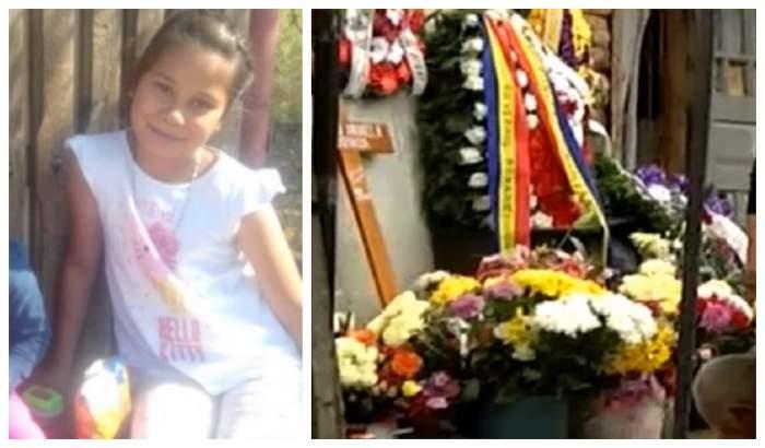 Durere fără margini! Adriana, fetiţa ucisă în Dâmboviţa, condusă joi pe ultimul drum. FOTO