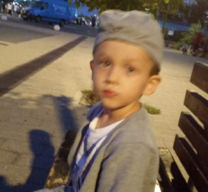George, un băieţel dat dispărut în Constanţa, a fost găsit dormind sub o masă, acasă