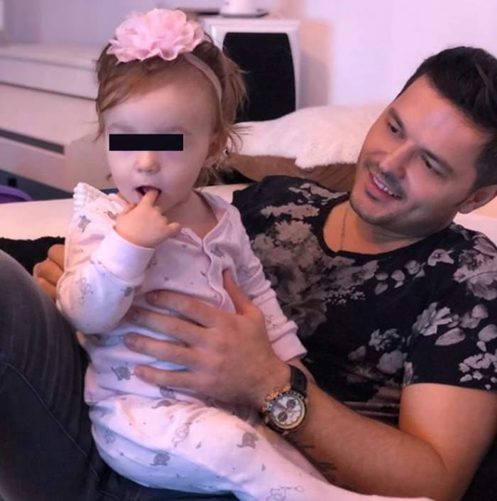Anastasia a împlinit 2 ani. Liviu Vârciu, probleme de sănătate chiar la petrecerea de ziua fiicei sale/ VIDEO