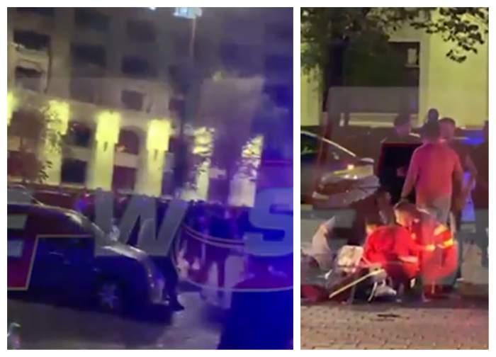 Asasinat în stil mafiot la Palatul Parlamentului. Imagini șocante filmate în timp real. VIDEO EXCLUSIV