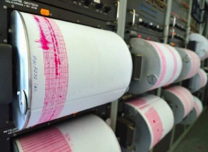 Cutremur cu magnitudinea 4,6 în judeţul Vrancea, marţi după-amiază. Seismul s-a simţit şi în Bucureşti