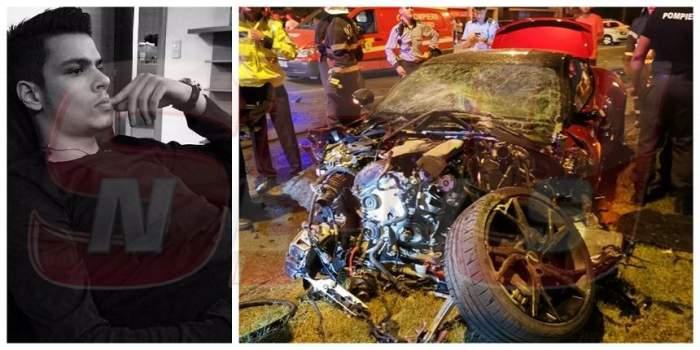 Mario Iorgulescu, accident grav cu bolidul de zeci de mii de euro! În ce stare se află fiul lui Gino Iorgulescu