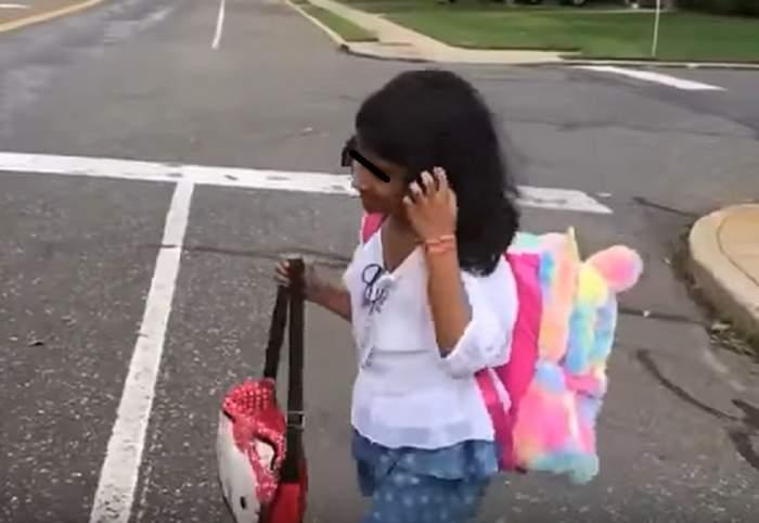 Noi imagini cu Sorina, în America! Fetița a început școala și ia cursuri de înot, gimnastică și pian