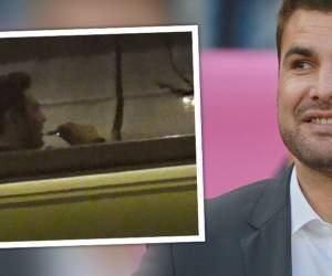 VIDEO PAPARAZZI / Să fie veselie! Cum a sărbătorit Adrian Mutu numirea în funcţia de selecţioner al României U21