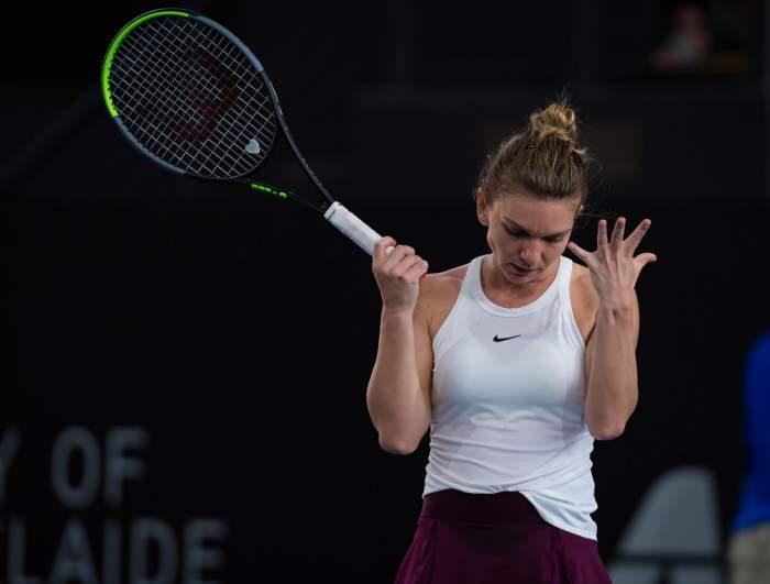 VIDEO / Simona Halep a fost eliminată în sferturile de finală ale turneului de la Adelaide!