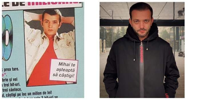 FOTO / Îţi aminteşti cum arăta Mihai Morar acum 20 ani? Prezentatorul tv era de nerecunoscut