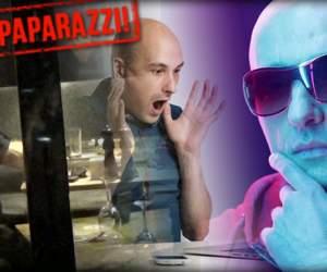VIDEO PAPARAZZI / Imagini neaşteptate cu Costi Ioniţă într-un restaurant de fiţe! Cum a reacţionat artistul după ce preţul la cafea i s-a părut prea mare
