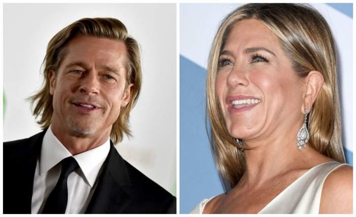 Moment unic între Brad Pitt și Jennifer Aniston, la Premiile SAG 2020. Actorul a făcut glume despre căsnicia cu Angelina Jolie