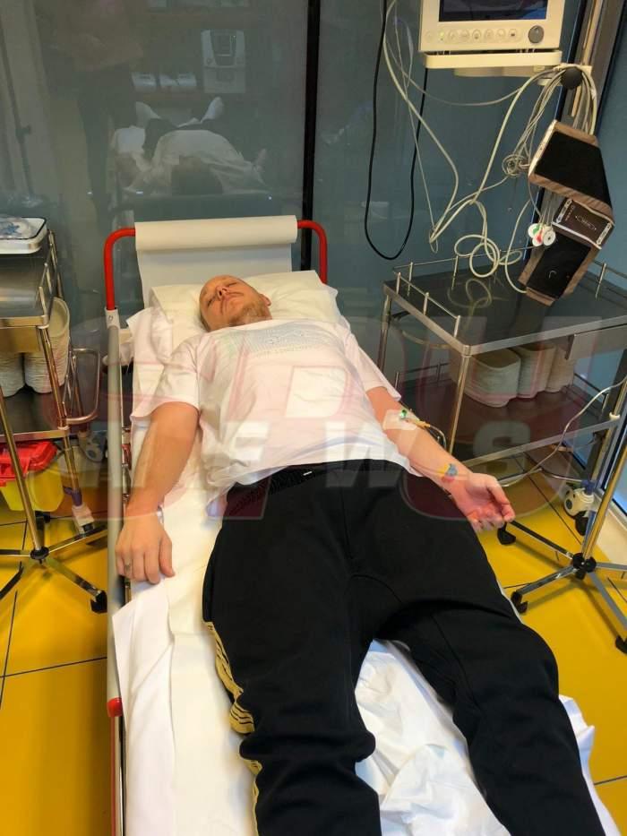 FOTO/ What's Up, internat de urgență. Nu a mai rezitat până la operație. Prima imagine de pe patul de spital