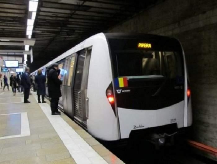 Incident grav la metrou. Un călător a căzut la stația Piața Unirii și a ajuns de urgență la spital