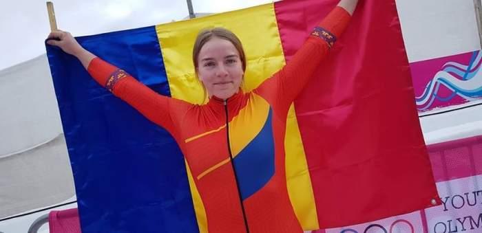 Cine este campiona olimpică a României la monobob. Georgeta Popescu, medaliată cu aur la doar 18 ani