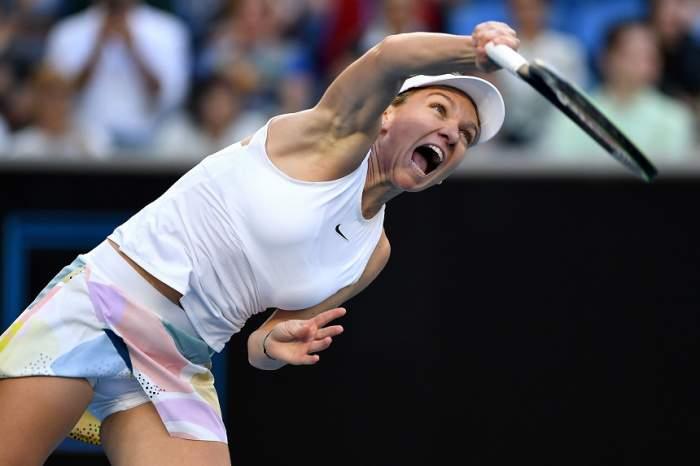 VIDEO / Simona Halep s-a calificat în turul II al turneului Australian Open! Cu cine va juca în runda următoare