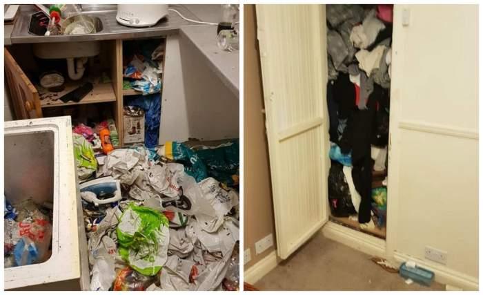 A lăsat casa în condiții impecabile, dar chiriașii au făcut totul praf! Proprietarul a cedat nervos când a văzut dezastrul / FOTO