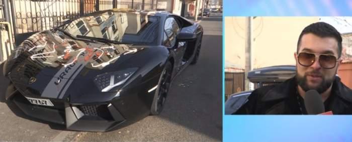 """Tzancă Uraganu, în culmea disperării! Mașina de 300.000 de euro, vandalizată de dușmani. """"Nu se poate așa ceva"""""""