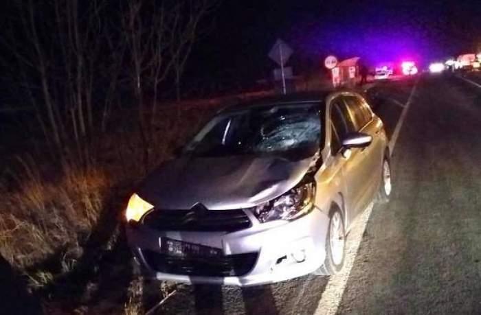 Tragedie în Timiș! O femeie a murit în agonie, după ce a fost lovită consecutiv de mai multe mașini