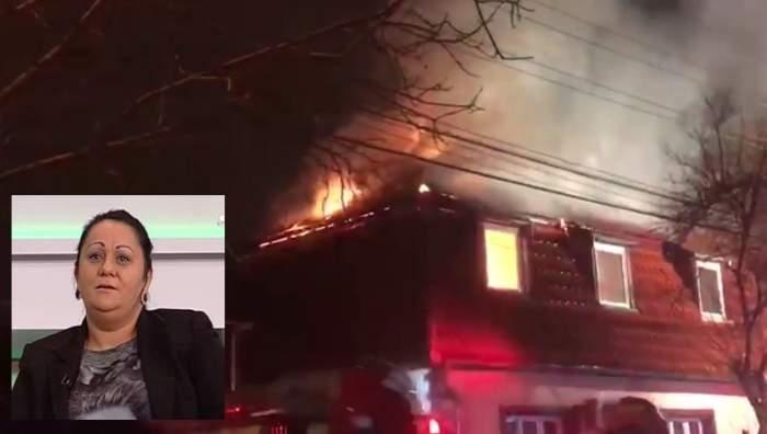 Casa Sorinei manelista a luat foc! Durere mare pentru familia fostei iubite a lui Nicolae Guţă / VIDEO