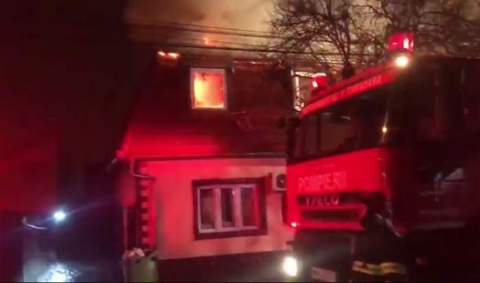 Manelista Sorina, supărată pe pompierii care au intervenit, după ce casa i-a luat foc. ''Dacă aveam furtun în curte opream eu imediat''