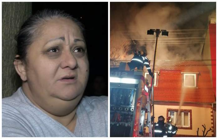 De ce a luat foc casa Sorinei Manelista. Imagini din infernul fostei lui Guță / VIDEO