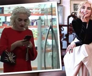 VIDEO PAPARAZZI / Nu poţi să scoţi contesa din Morodan, nici măcar atunci când coboară printre pământeni! Imagini de senzaţie cu cea mai tare bloggeriţă din România
