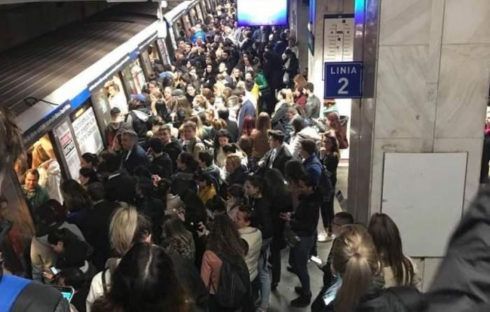 Ultima oră! Bărbat înjunghiat la staţia de metrou Iancului!