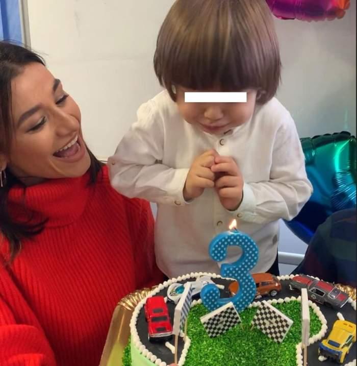 Bucurie mare pentru Claudia Pătrăşcanu. Fiul său cel mic împlineşte 3 ani. Mesajul emoţionant transmis de artistă