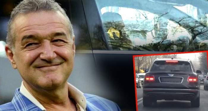 VIDEO EXCLUSIV / Imagini bombă cu Gigi Becali! Paparazzii Spynews.ro l-au surprins pe latifundiar în timp ce încălca legea