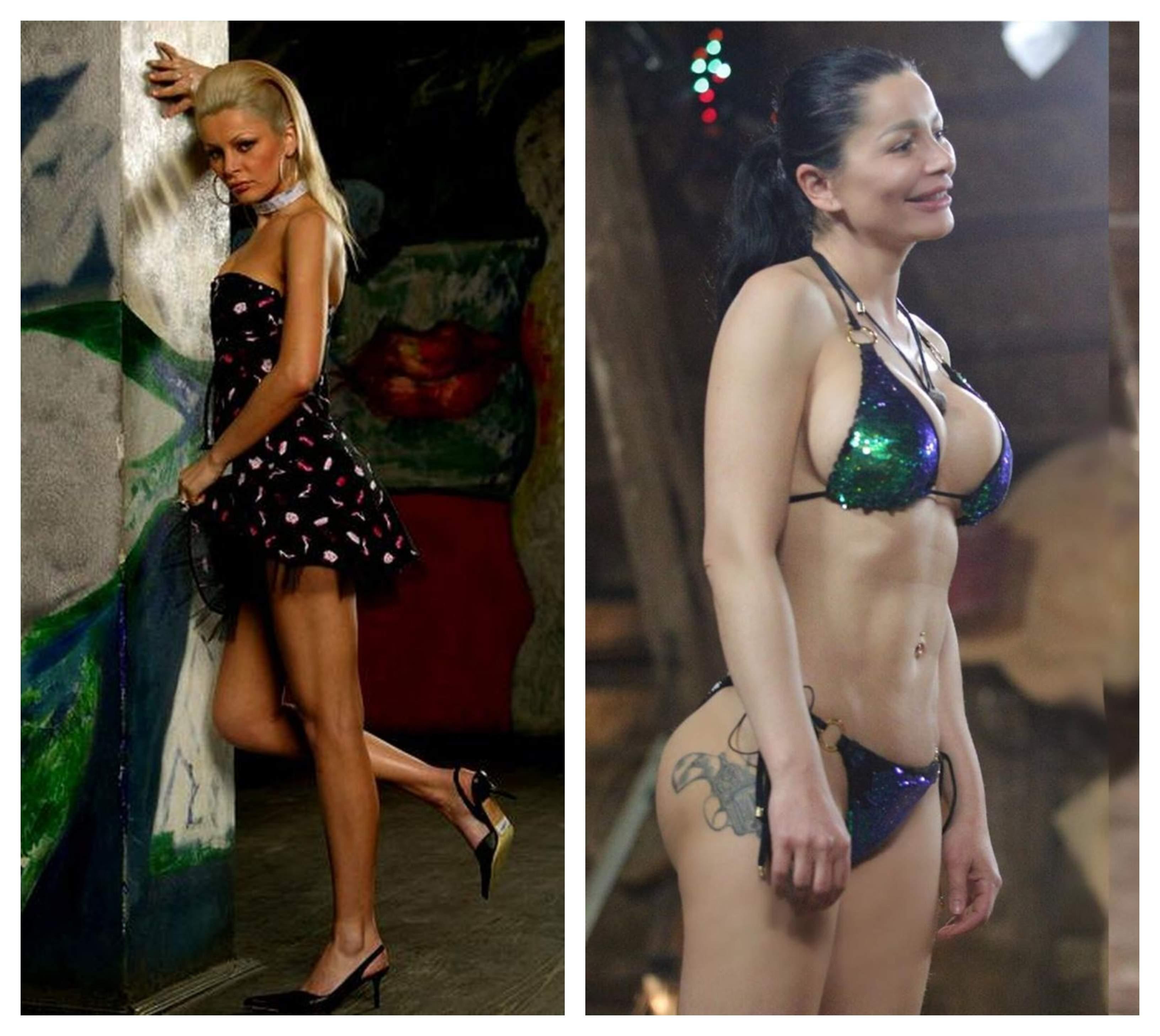 FOTO / Cum arăta Brigitte Pastramă înainte să se tuneze! Bruneta are 20 de operaţii estetice
