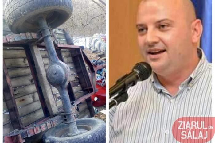 Politician de 35 de ani, în stare gravă după ce a fost strivit de un tractor. Acasă îl aşteaptă un copil