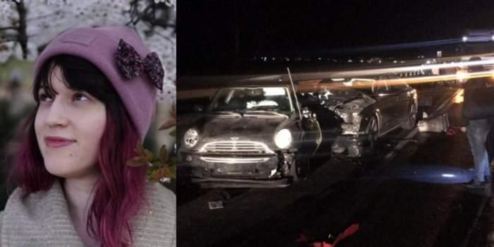 Alexandra s-a stins pe loc, într-un tragic accident petrecut pe Valea Oltului! Tânăra avea doar 31 de ani