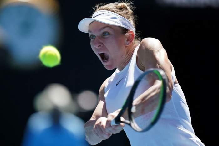 """VIDEO / Prima reacţie a Simonei Halep, după ce s-a calificat în sferturile de finală ale turneului Australian Open! """"Câteodată o iau razna"""""""